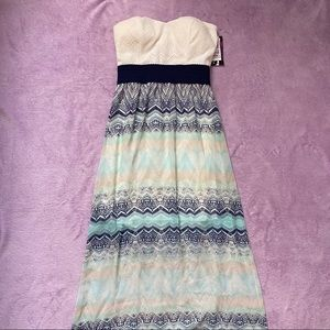 New! Trixxi Strapless Maxi Dress